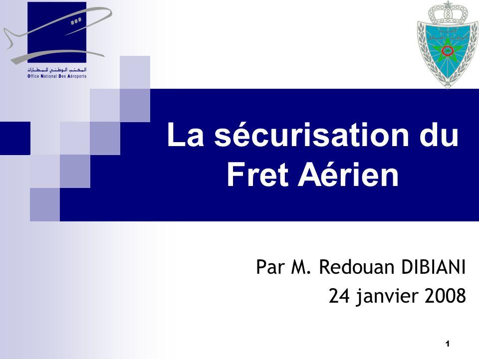 La sécurisation du Fret Aérien