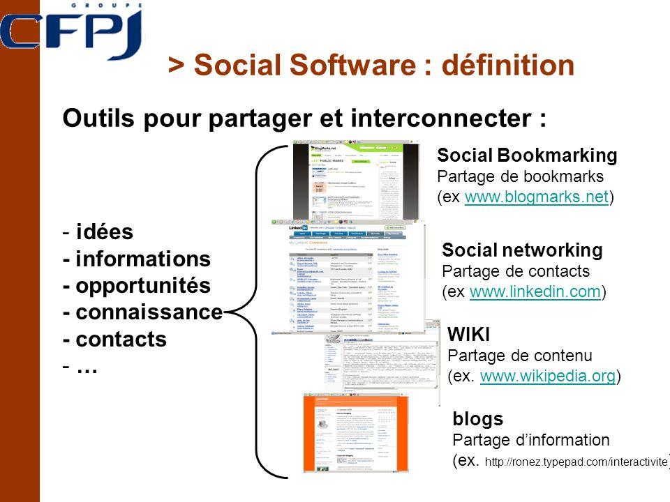 > Social Software : définition