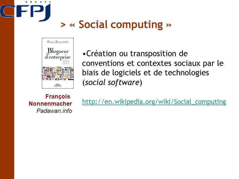 > « Social computing »