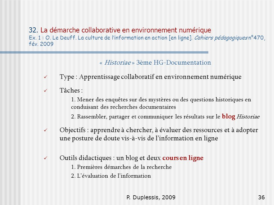 « Historiae » 3ème HG-Documentation