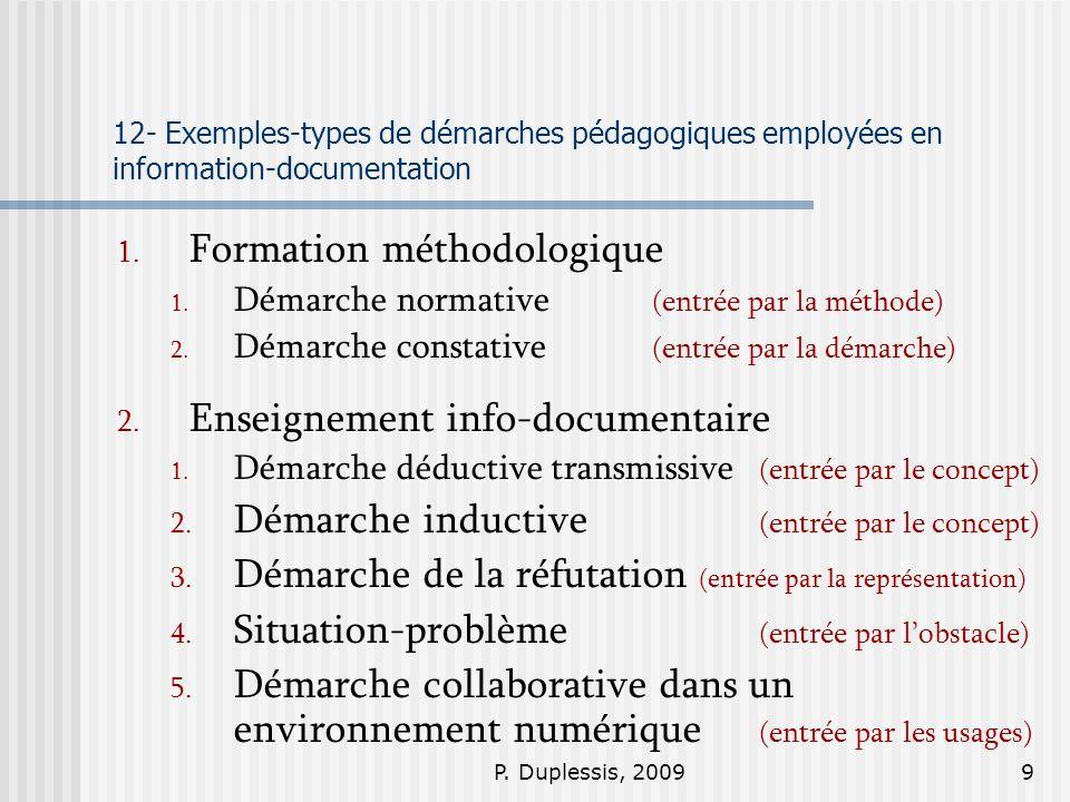 Formation méthodologique