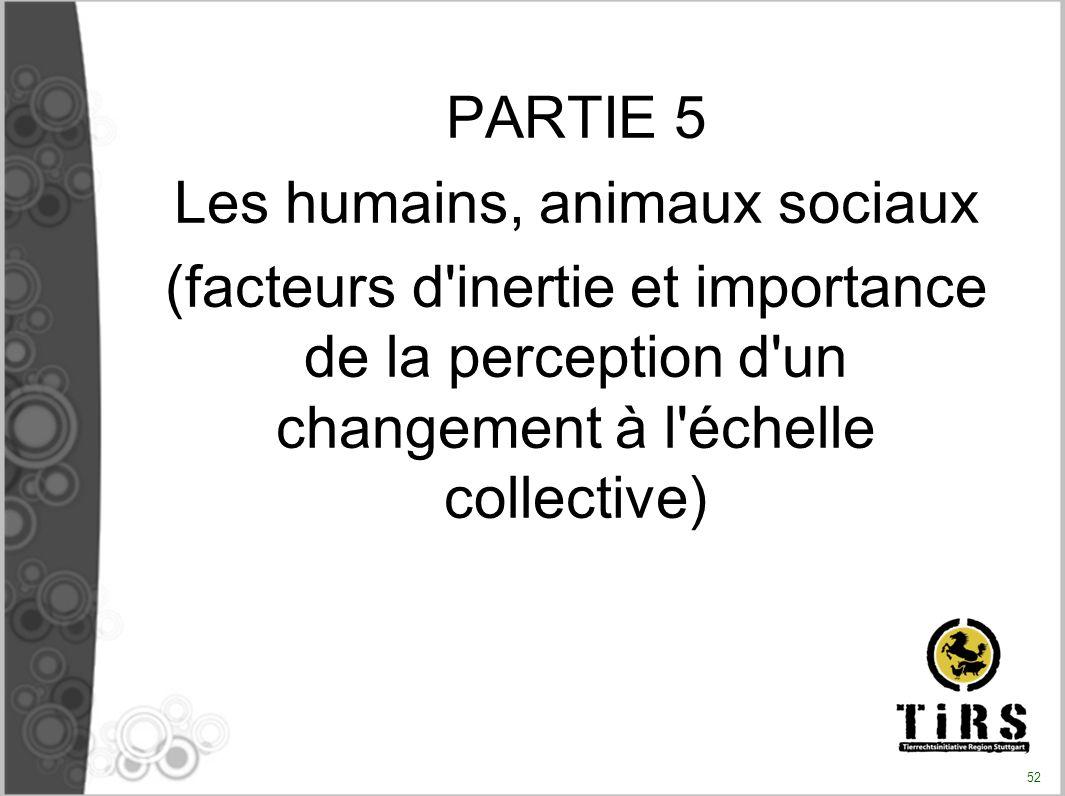 Les humains, animaux sociaux