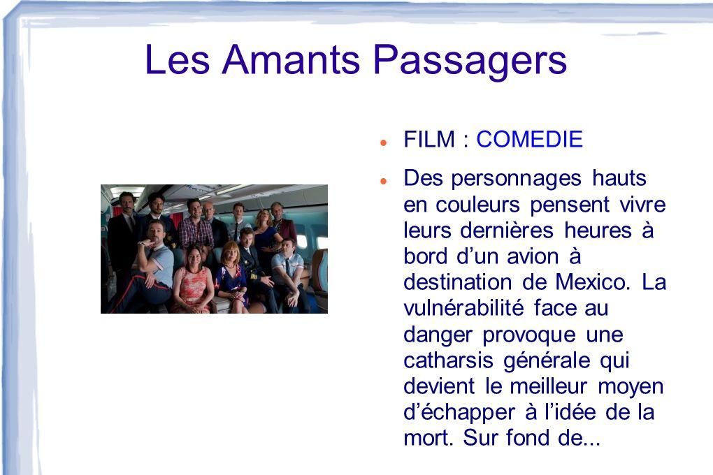 Les Amants Passagers FILM : COMEDIE
