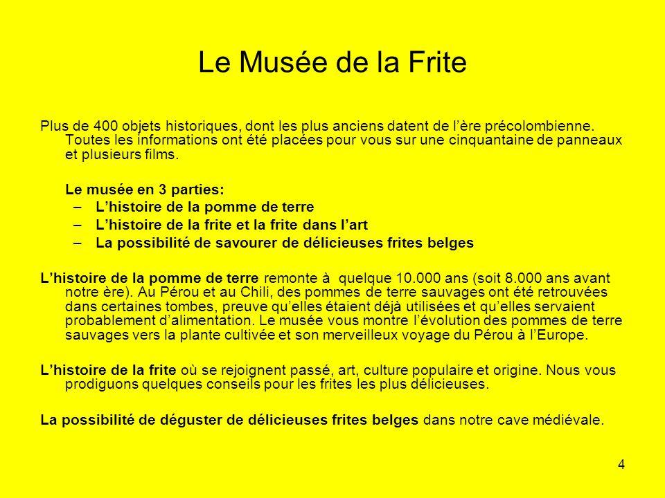 Le Musée de la Frite