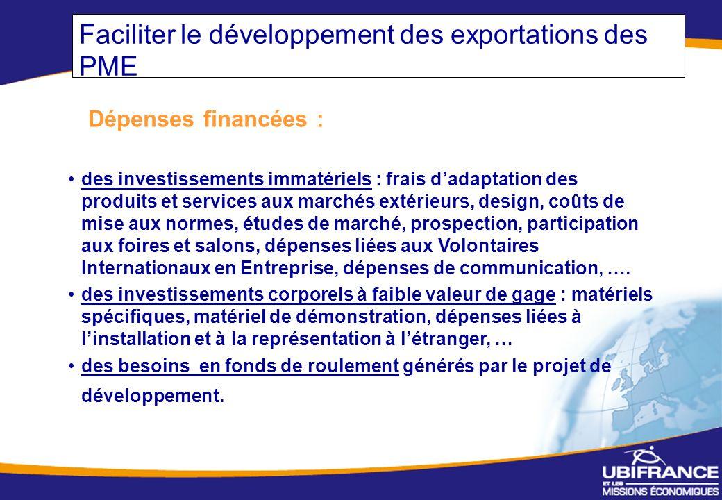 Faciliter le développement des exportations des PME
