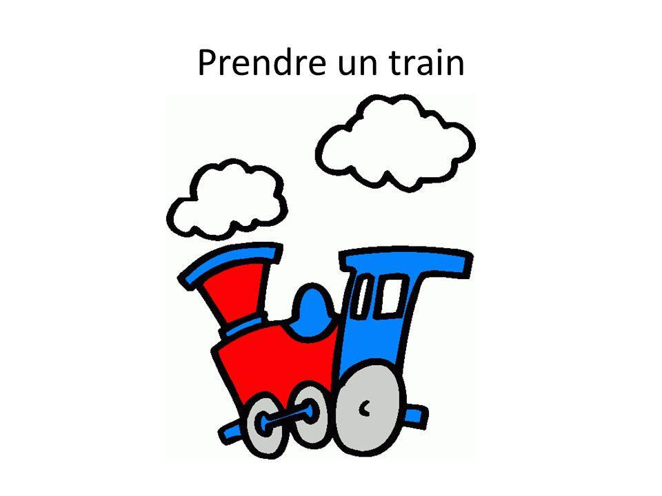 Prendre un train