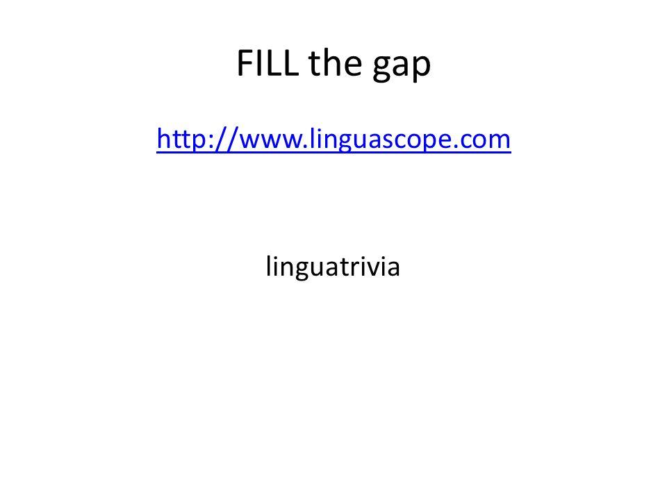 http://www.linguascope.com linguatrivia