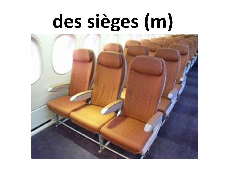 des sièges (m)