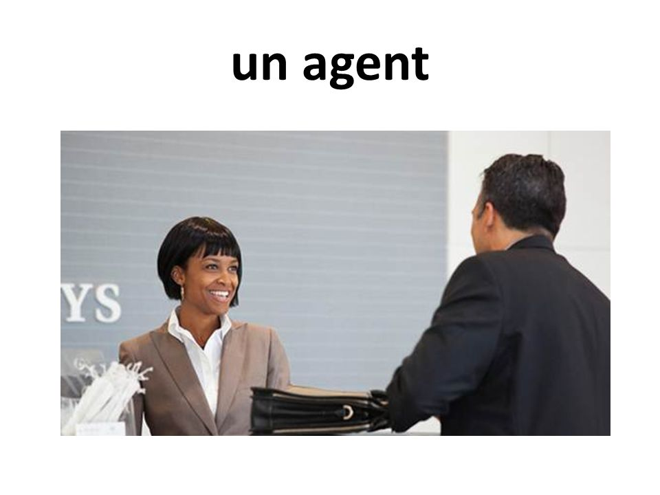 un agent