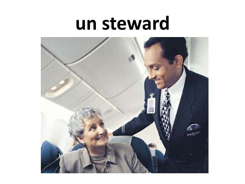 un steward