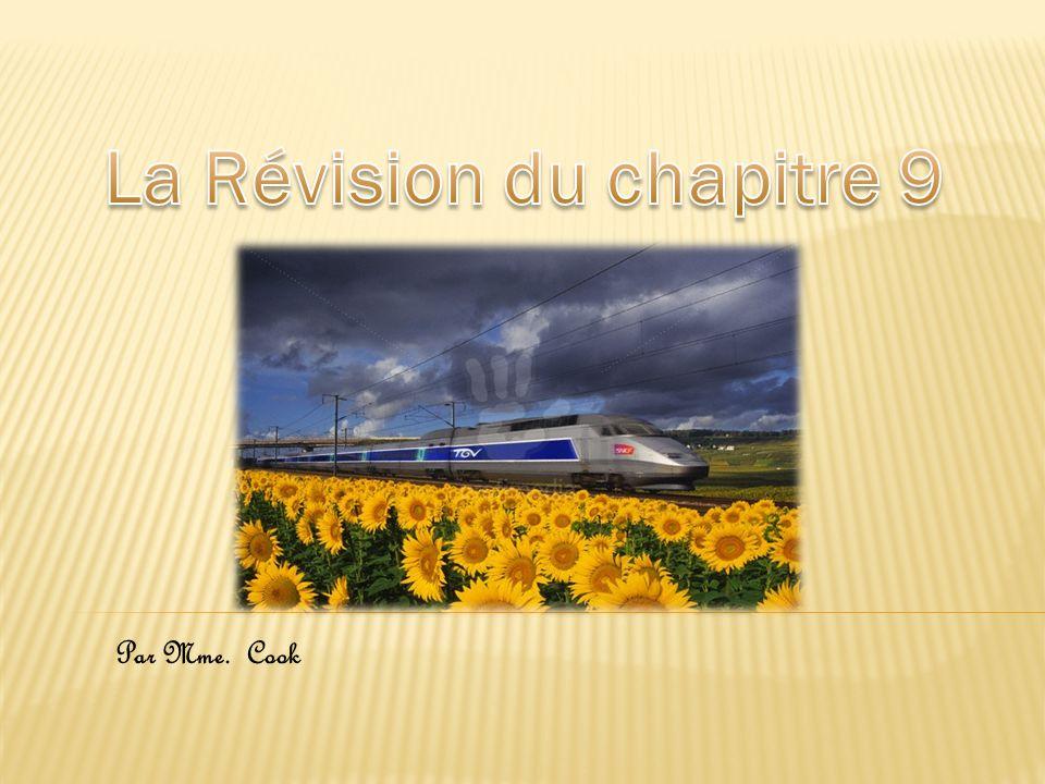 La Révision du chapitre 9