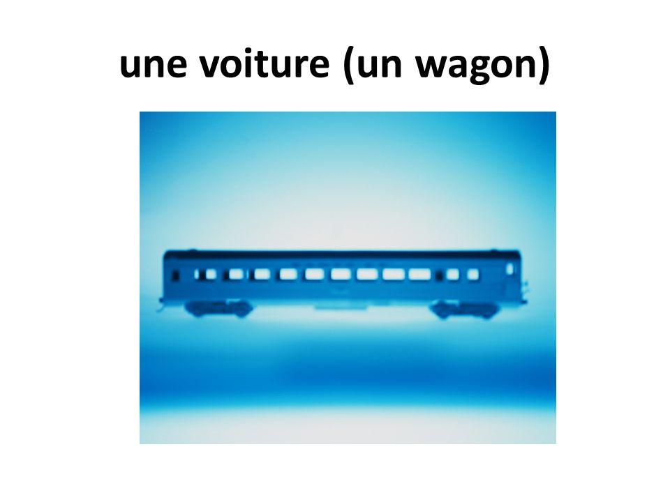 une voiture (un wagon)