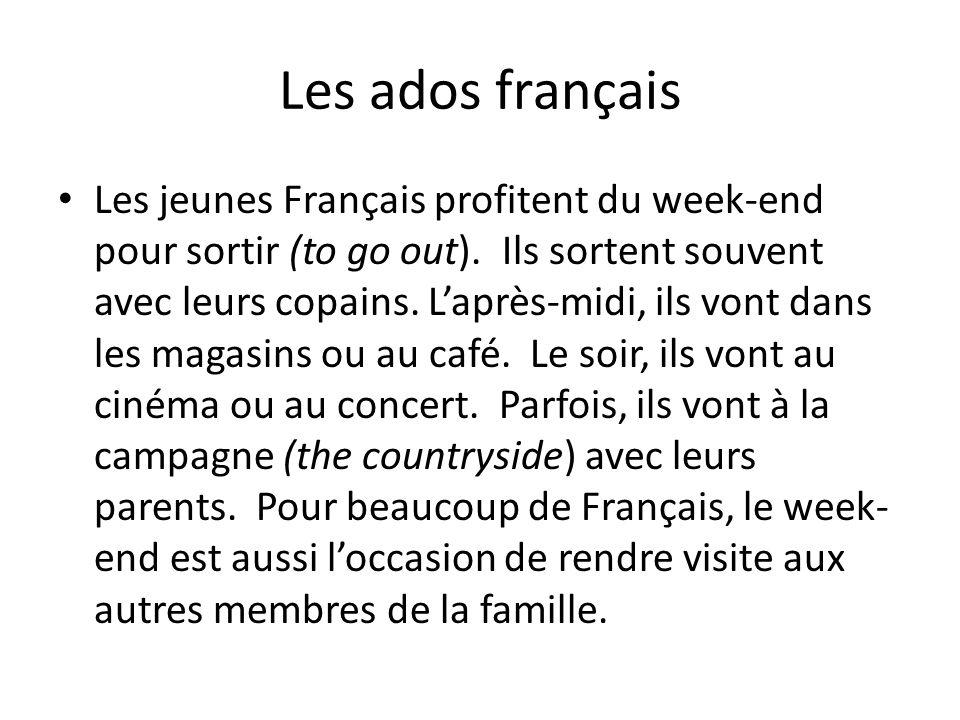Les ados français