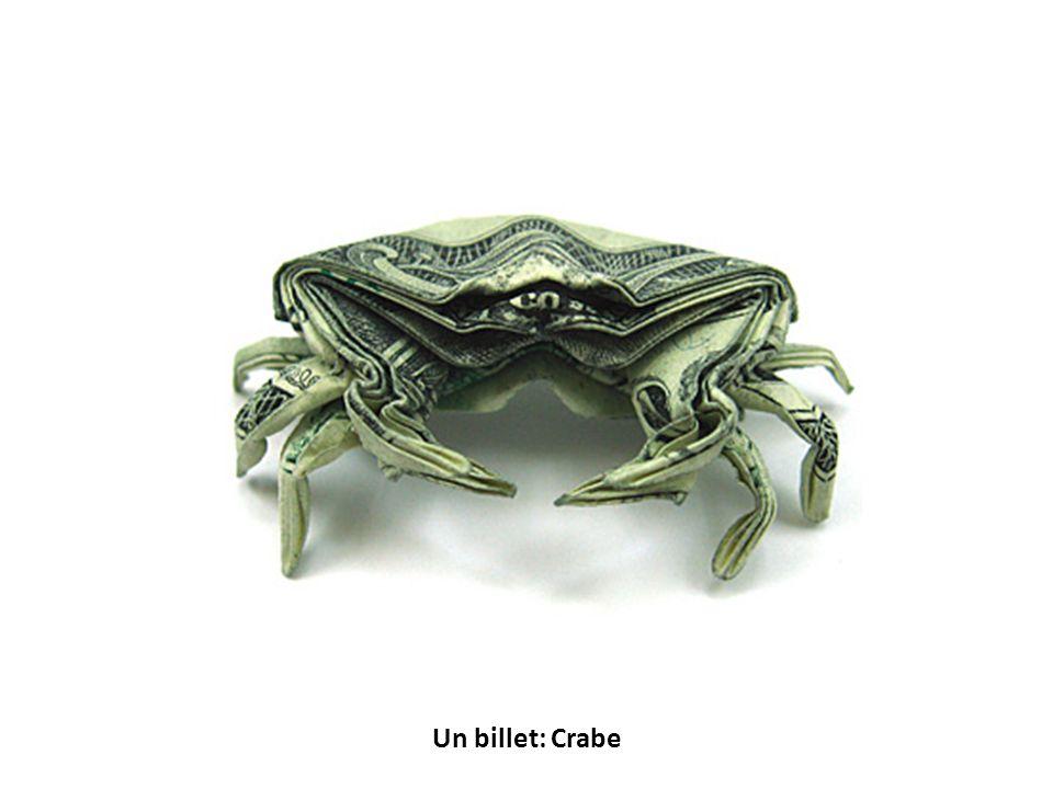 Un billet: Crabe