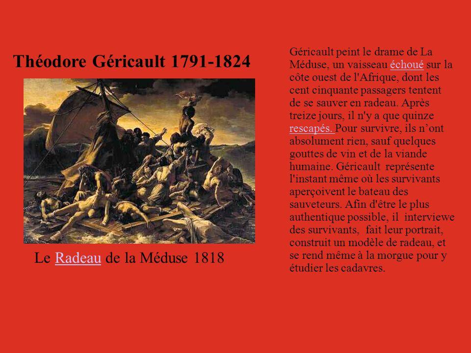 Théodore Géricault 1791-1824 Le Radeau de la Méduse 1818