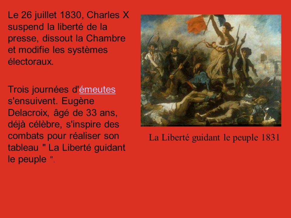 La Liberté guidant le peuple 1831