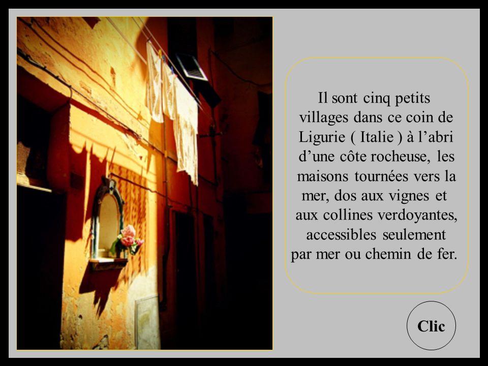 villages dans ce coin de Ligurie ( Italie ) à l'abri