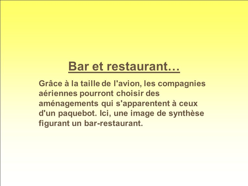 Bar et restaurant…