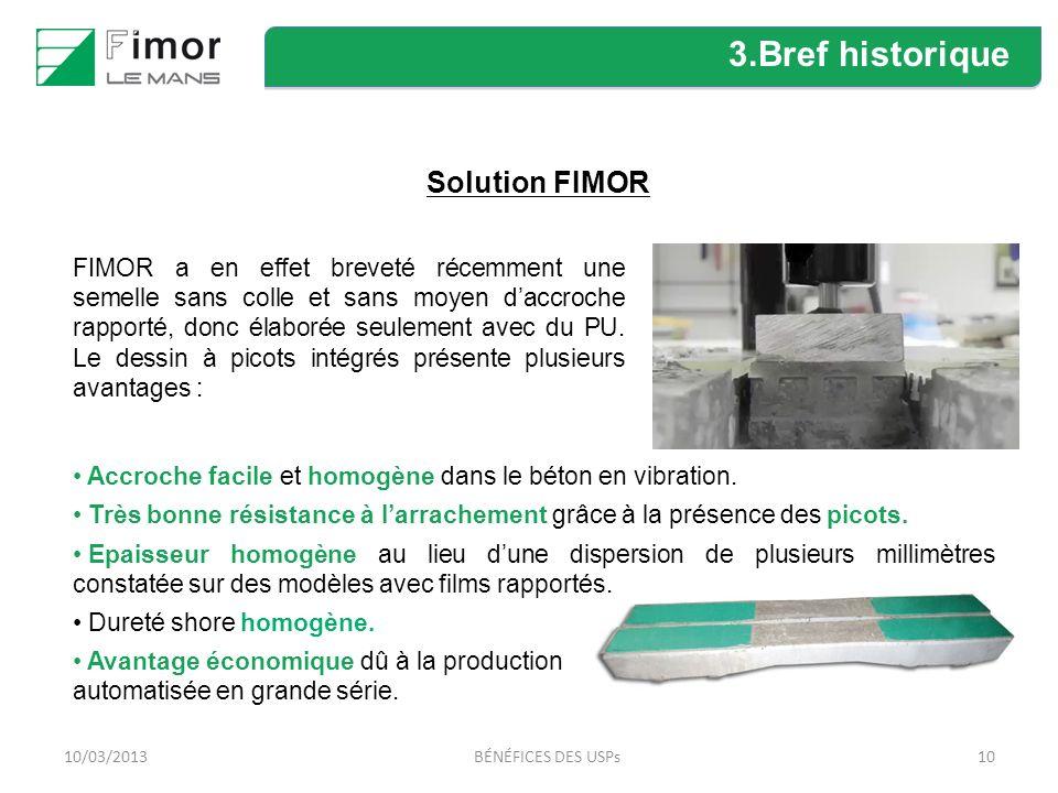 3.Bref historique Solution FIMOR