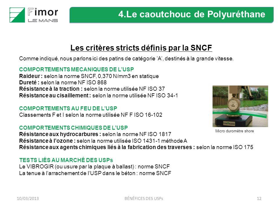 Les critères stricts définis par la SNCF