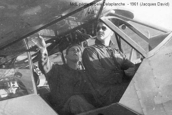 MdL pilote appelé Delaplanche - 1961 (Jacques David)