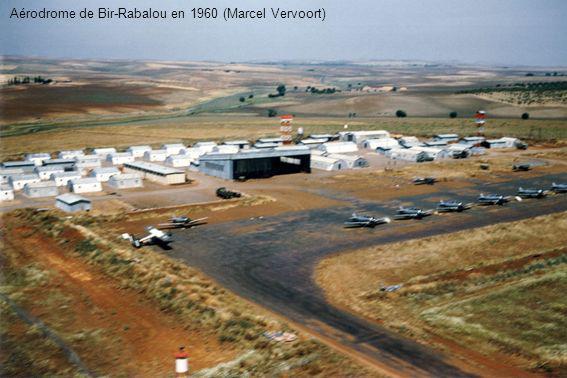 Aérodrome de Bir-Rabalou en 1960 (Marcel Vervoort)