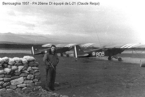Berrouaghia 1957 - PA 20ème DI équipé de L-21 (Claude Requi)