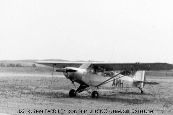 L-21 du 2ème PARR à Philippeville en juillet 1960 (Jean-Louis Gosseaume)