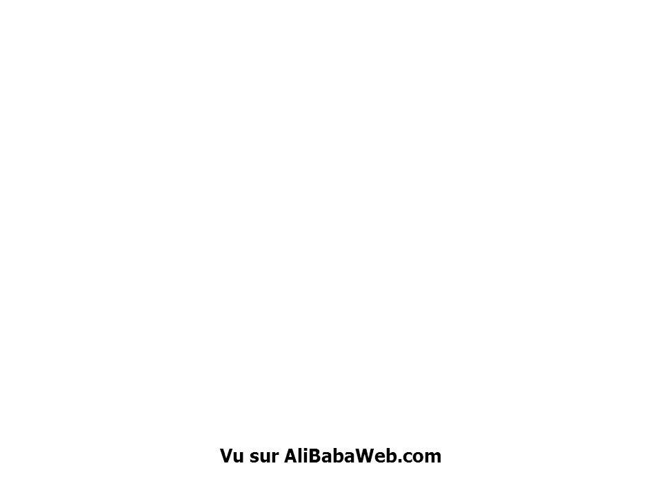 Vu sur AliBabaWeb.com