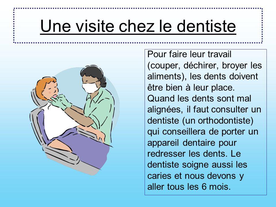 Une visite chez le dentiste