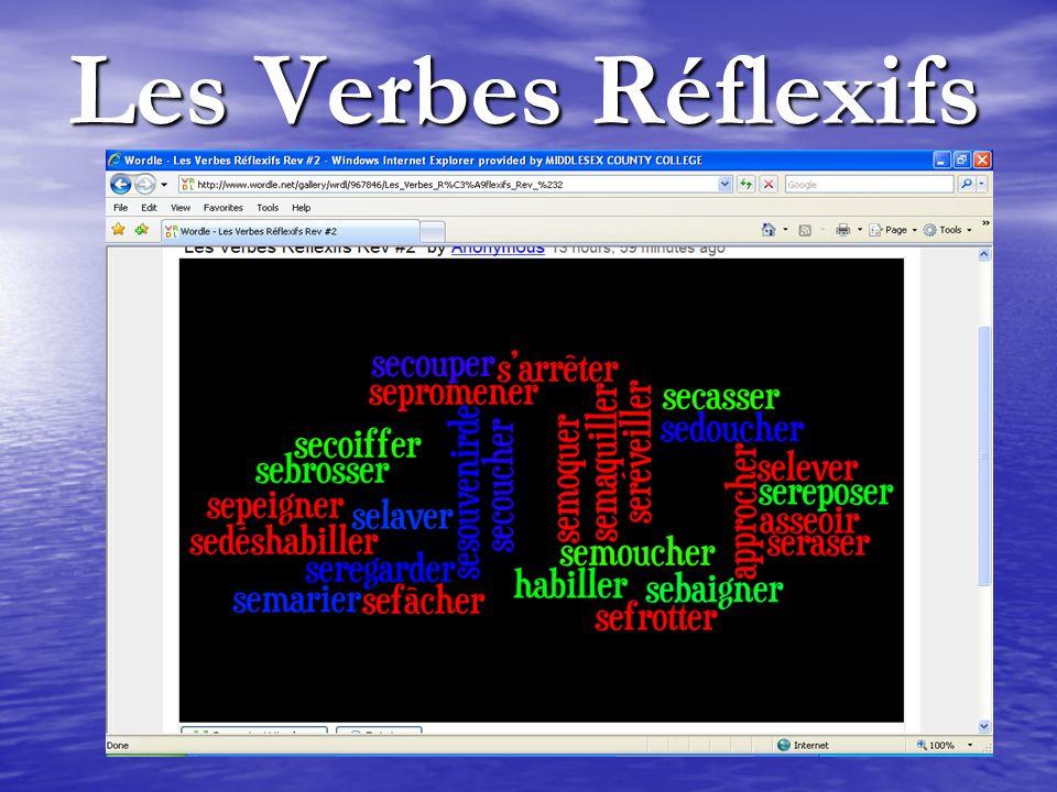 Les Verbes Réflexifs