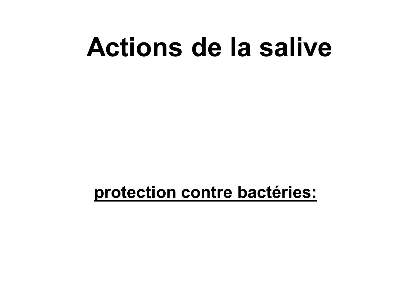 protection contre bactéries: