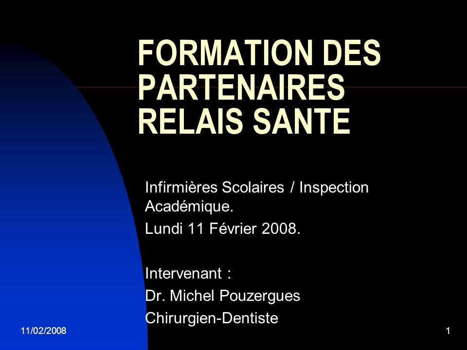 FORMATION DES PARTENAIRES RELAIS SANTE