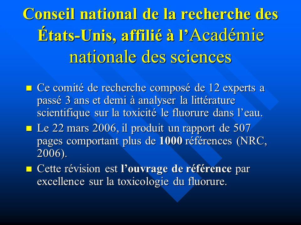 Conseil national de la recherche des États-Unis, affilié à l'Académie nationale des sciences