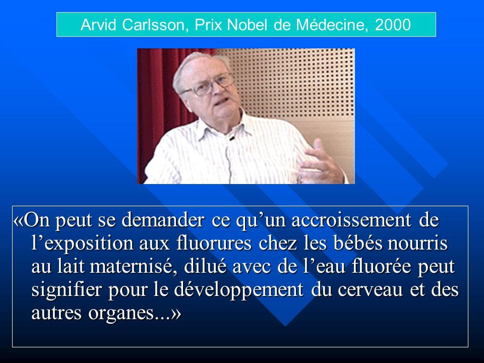 Arvid Carlsson, Prix Nobel de Médecine, 2000