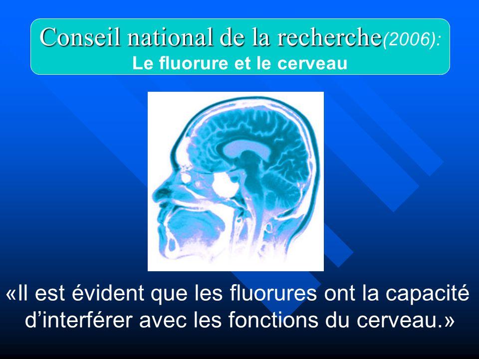 Le fluorure et le cerveau
