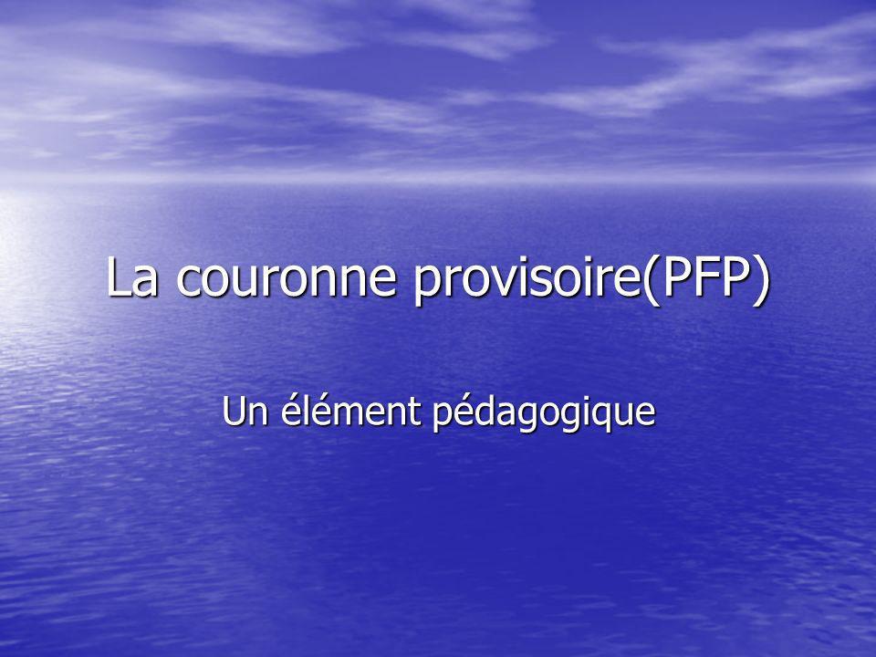 La couronne provisoire(PFP)