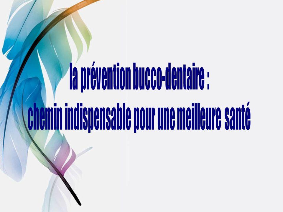 la prévention bucco-dentaire :