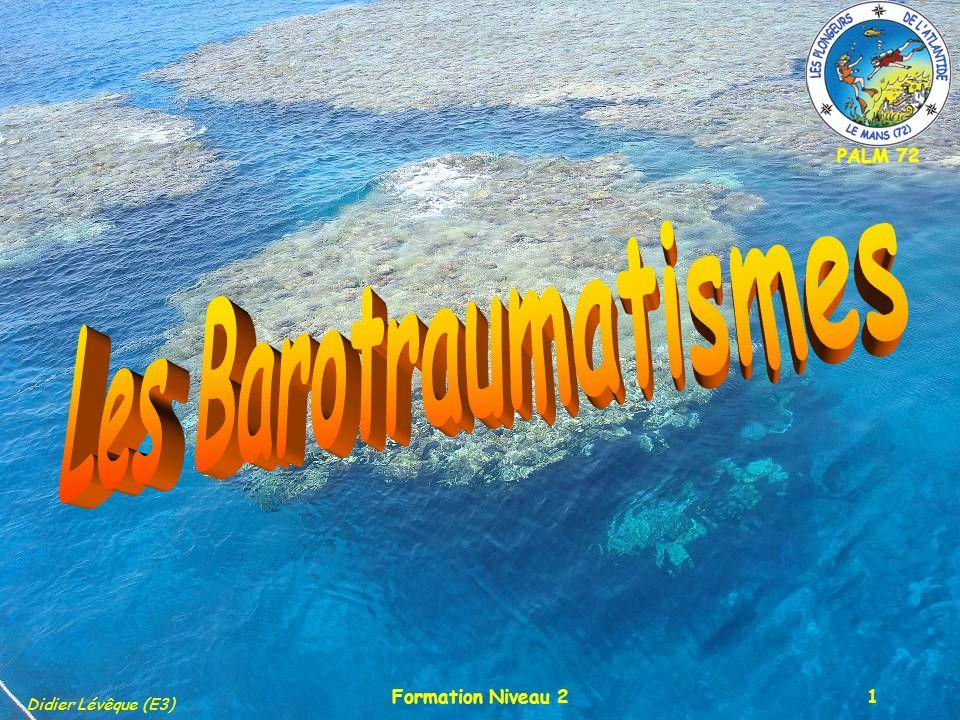 Les Barotraumatismes Formation Niveau 2