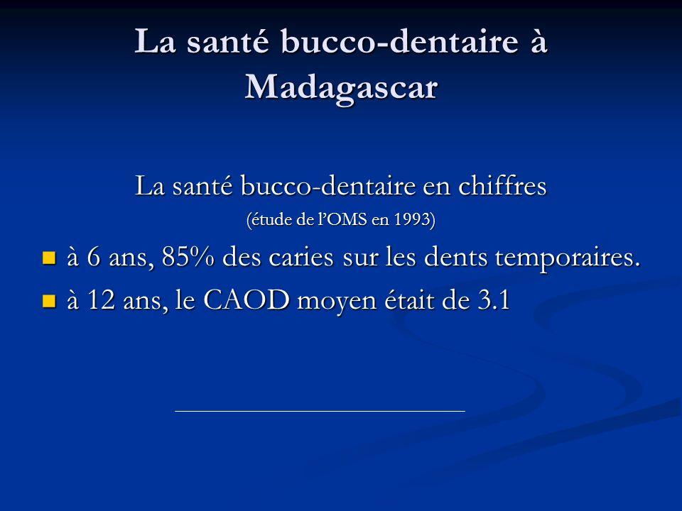 La santé bucco-dentaire à Madagascar