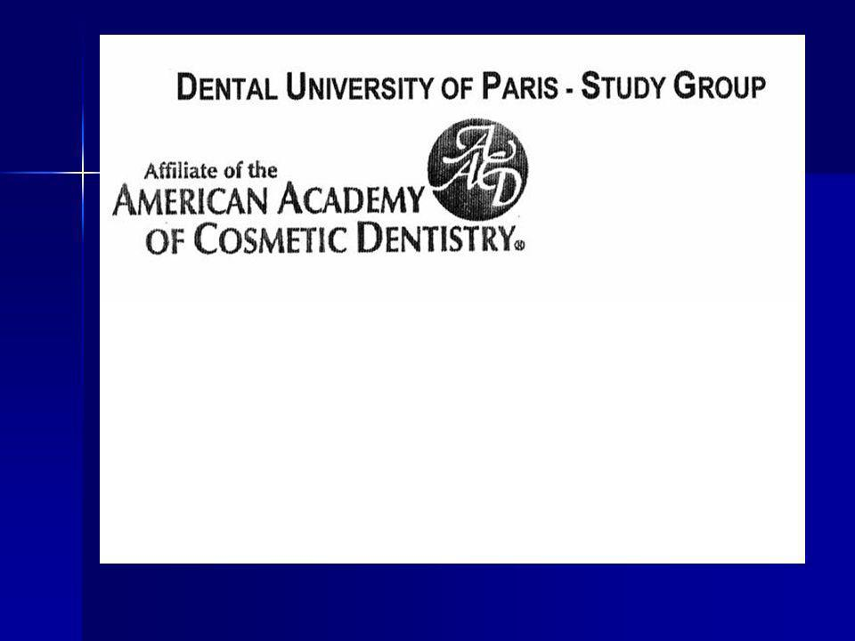 - les statuts sont inspirés de l'AACD, association américaine à laquelle nous sommes affiliés.