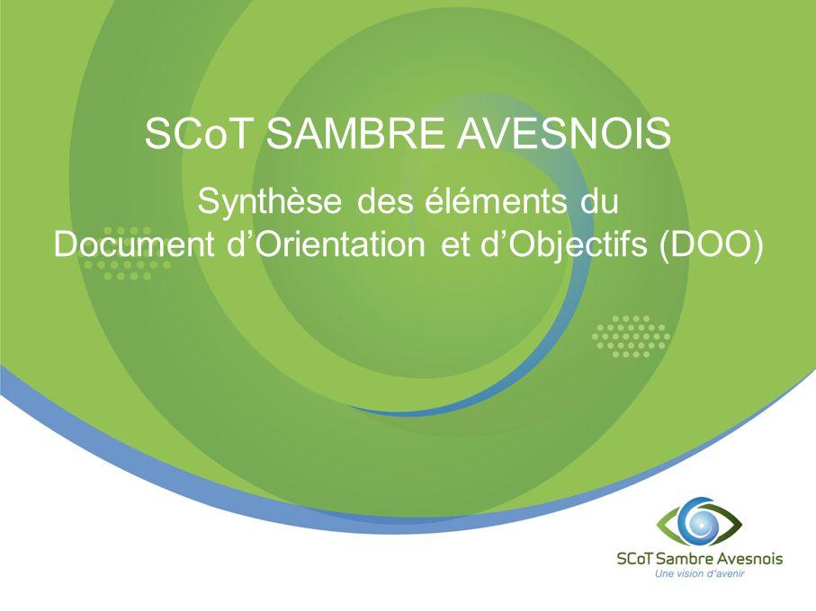SCoT SAMBRE AVESNOIS Synthèse des éléments du