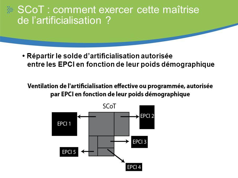 SCoT : comment exercer cette maîtrise de l'artificialisation