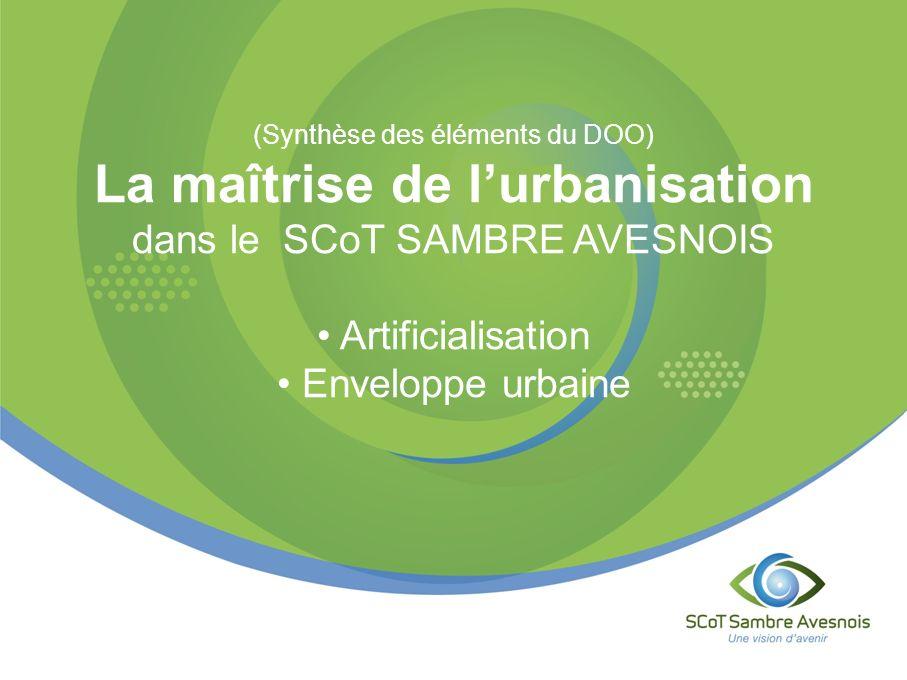 La maîtrise de l'urbanisation dans le SCoT SAMBRE AVESNOIS