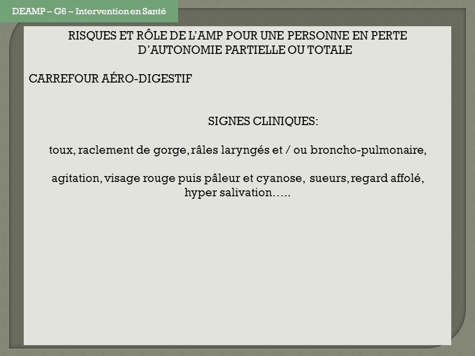 CARREFOUR AÉRO-DIGESTIF