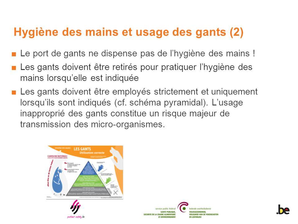 Hygiène des mains et usage des gants (2)