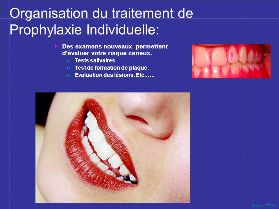Organisation du traitement de Prophylaxie Individuelle: