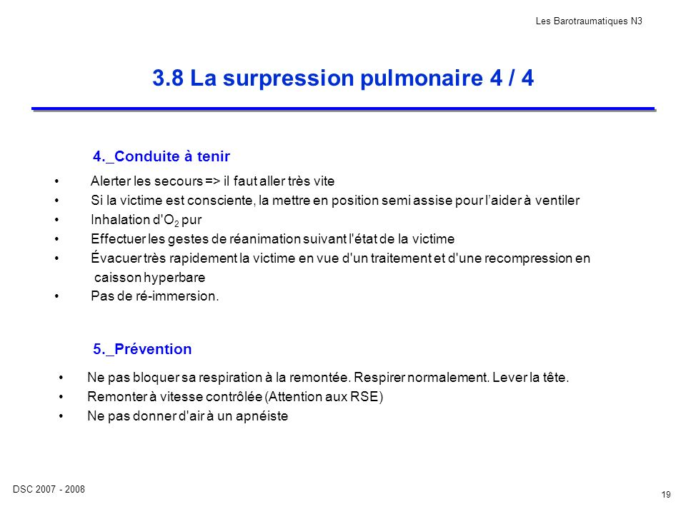 3.8 La surpression pulmonaire 4 / 4