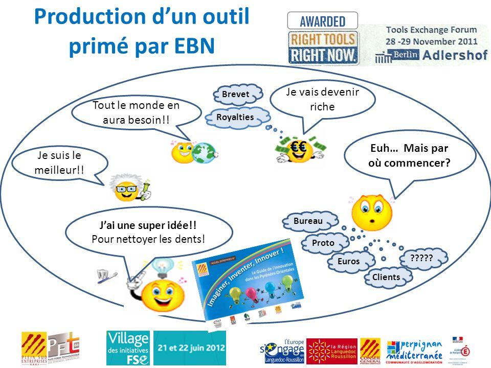 Production d'un outil primé par EBN