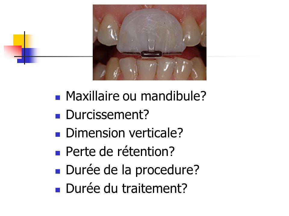 Maxillaire ou mandibule